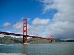 Photo : Golden Gate Bridge, le fameux pont rouge!
