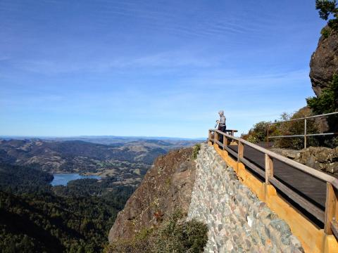 Photo : Point de vue au Mount Tamalpais