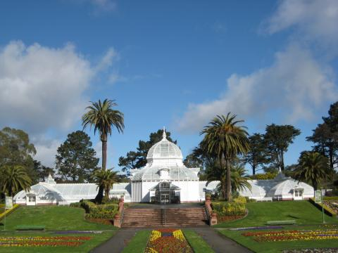 Photo : Academy of Flowers dans le Golden Gate Park San Francisco