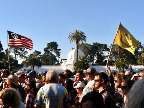 Photo : Festival dans Golden gate Park San Francisco