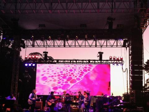 Festival de musique live dans le Golden Gate Park San Francisco